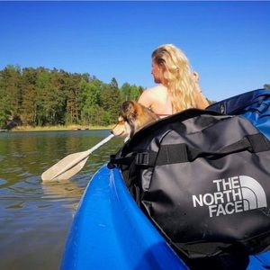The North Face travel bag / backpack